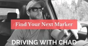 Driving with Chad: Find Your Next Marker