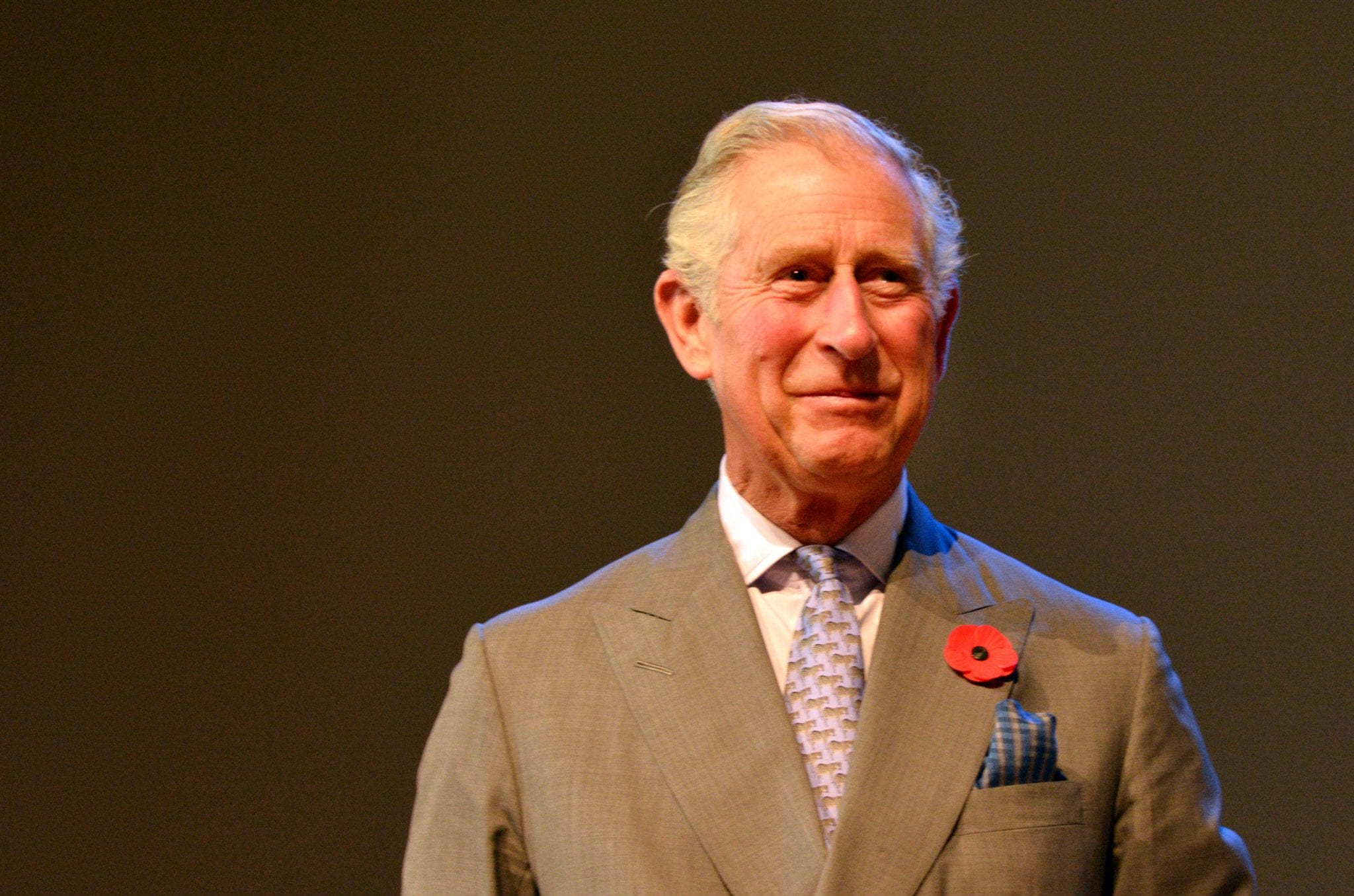 the king Prince Charles is a pussy
