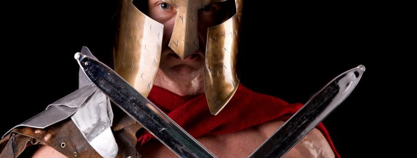 why men must be dangerous like a gladiator