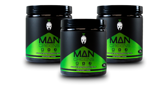 3 Bottles of Man Greens ONE-TIME OFFER